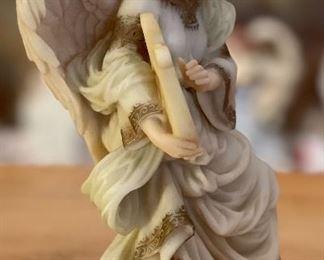 Seraphim Cymbeline Peacemaker Angel Sculpture6.5x4.5x3inHxWxD