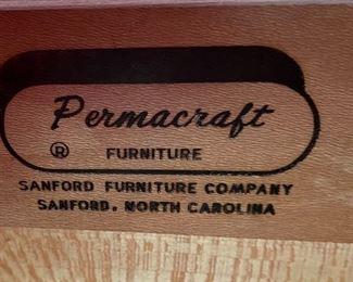 Vintage Permacraft dresser/desk34x33x18inHxWxD