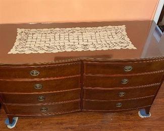 Rway Vintage 8-Drawer Dresser36x60x21.5inHxWxD