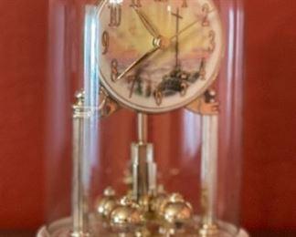 Thomas Kinkade Sunrise Clock9in H x 6in Diameter