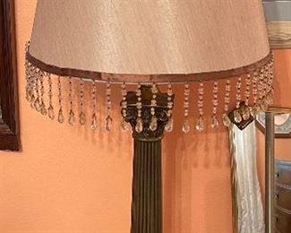 Corinthian Column Lamp Single31in H x 14in Diameter