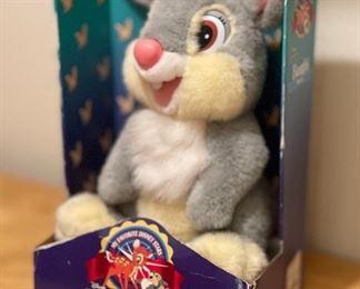 Disney Bambi Thumper Mattel Plush Toy in box14x9x7.5inHxWxD