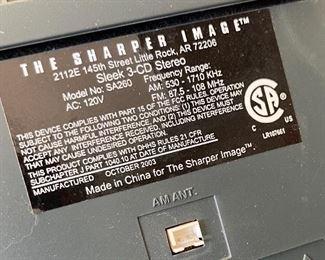 Sharper Image SA260 CD Player