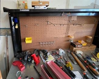 Husky Garage Work Center61x54x24HxWxD