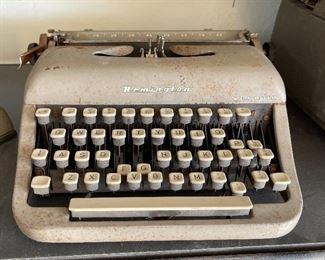 Remington Rem-Riter Typewriter