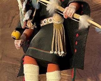 Maiden Warrior Kachina Doll13in H
