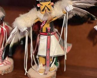 Golden Eagle Kachina Spencer12in H