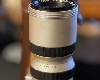 Topcon 87-205mm Lens Exakta