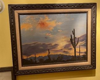 *Original* Lorry Sonoran Desert Landscape Painting24x30