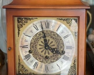 Tradition German Mantle Clock 1050-02012.5x9.5x5.5inHxWxD