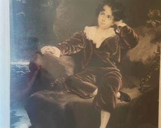 Antoine Gaymard Antique Mezzotint29x24in