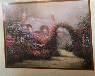 Thomas Kinkade Floral Entryway15x18in