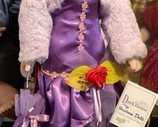 Duck House Heirloom Doll18in h