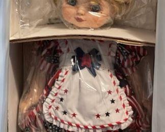 Marie Osmond Adora Belle of Freedom Doll NIB16.5in H