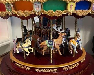 Mr Christmas Royal Marquee Carousel