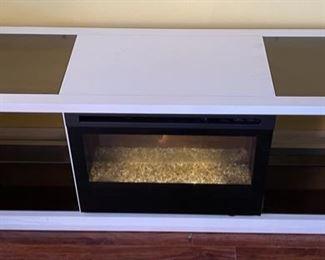 Electric Fireplace Cabinet/Shelf24x64x18inHxWxD