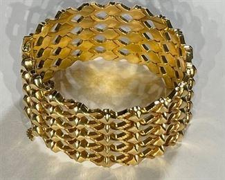 Vintage Italy 18k Gold .750 UNO 1 AR Bracelet UnoAErre18k