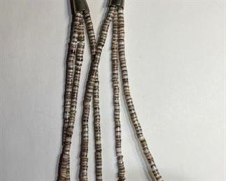 Native American Vintage Zuni Fetish Necklace 3-Strand