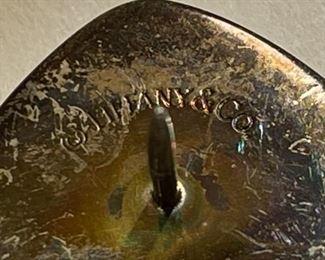 Saint Francis Memorial Hospital Tiffany & Co Pin 18k/925.925/18k