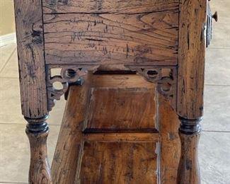Alexander Sinclair Antique Elm Sideboard36.5x76x19inHxWxD