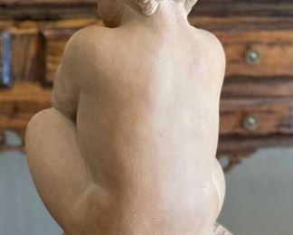 Terracotta Baby Sculpture BBW MPI Museum Pieces17x9x8inHxWxD