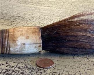 13in Asian Ceramic Bead Horse Hair Calligraphy brush13in Long