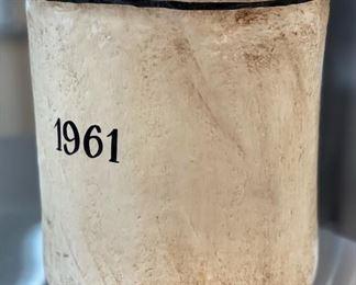 Bouchard Pere & Fils Paper Mache Decor Bucket13in H x 13in Diameter