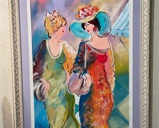 *Original* Art Osten 2 Ladies31x23x1.5inHxWxD