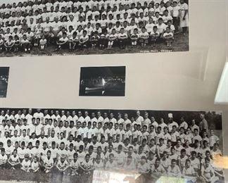 1950-54 Camp Thunderbird Bemidji, Minnesota Framed Photo29x42inHxWxD