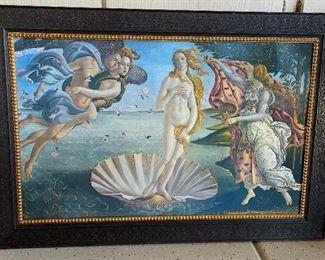 The Birth of Venus Sandro Botticelli Print on Board30x43.5in