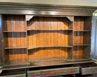 Alexander Sinclair Firenze Sideboard & Hutch Grass Green95x98x22inHxWxD