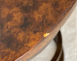 2pc Heavy Iron Rustic Spring Stools PAIR24in H x 14.25in Diameter