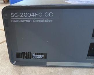 SC-2004fc-oc Sequential Circulator Bio Compression System