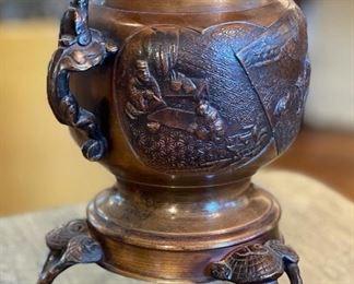 Modern Asian Bronze Vase