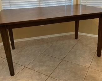 Paxton Collection Contemporary Dining Table w/ 4 Chairs30x36x60inHxWxD