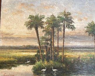 *Original* Marshland Art Caroline25 x 29