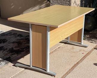 Natural Maple Contemporary Desk29 x 32 x 59HxWxD