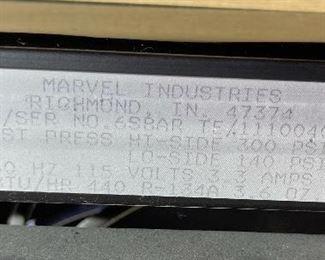 Marvel 24in 6SBAR Wine Cooler Bar Fridge35x24x36inHxWxD