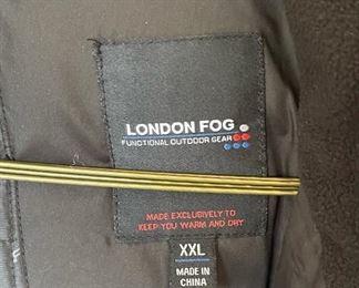 London Fog Heavy Coat TrenchXL