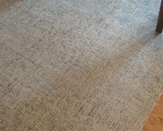 Restoration Hardware Ben Soleimani Collection rug.  Wool ivory marled.  9' x 6'  $300