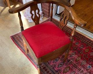 #46Wood Corner Chair Potty Seat  $175.00