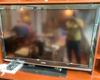#52Sharp TV w/remote - LCD - Model #LC52D62U $100.00