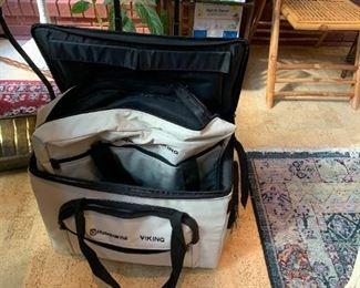 #63Rolling Husqvarna Viking Machine Bag on Wheels $50.00