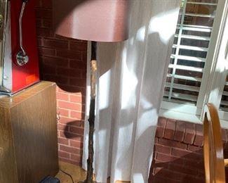 #66Metal Twig Floor Lamp $75.00