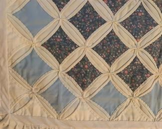 #81Cathederal Windows Baby Quilt $65.00