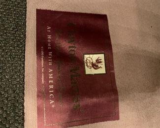 #89Clayton Marcus Side Chair w/ottoman $125.00