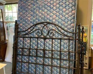 #139Queen Iron Size Bed Frame w/matt/Box  $275.00
