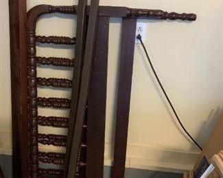 #141Jenny Lind Full Bed Frame rails $75.00