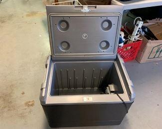 #150Coleman Electric Cooler (cigarette lighter & plug-in) $60.00