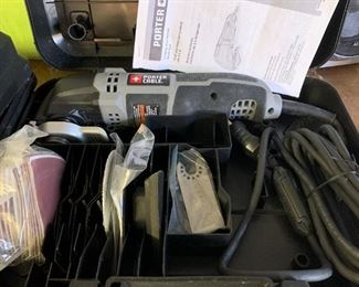 #161Porter Cable Oscillating Multi-Tool $30.00